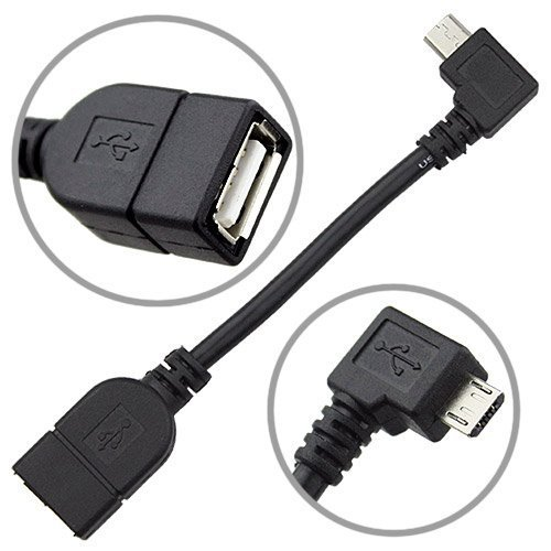 Micro USB Host Mode On The Go OTG Cable for Nexus 7, Xoom, Galaxy S2, Nokia N810 / N900, Toshiba TG01, Archos G9
