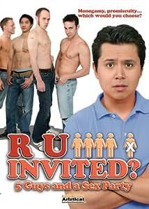 R U Invited 5 Guys & A Sex Party [dvd/gay Friendly Box Art]