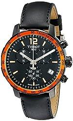 Tissot Men's T0954173605701 Quickster Analog Display Quartz Black Watch