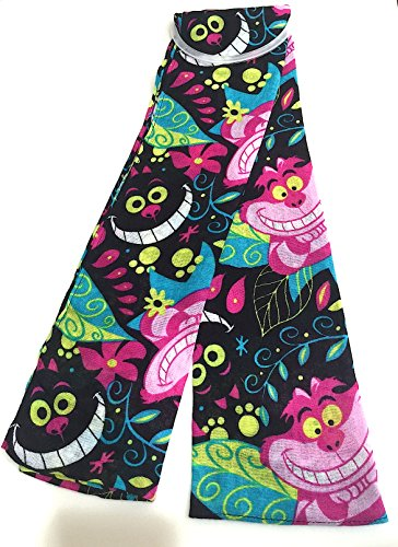 Disney Parks Exclusive Cheshire Cat Alice in Wonderland Scarf New