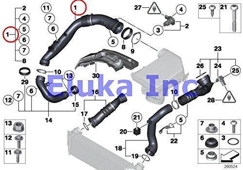 Mass Air Flow Sensor For Mazda 626 98-02