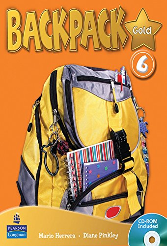 Backpack Gold 6 SBk & CD ROM N/E Pk