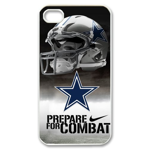 NFL Dallas Cowboys iPhone 4/4S Best Durable Cowboys Logo Case Cover at Amazon.com