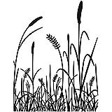 Darice Embossing Folder, 4.25 by 5.75-Inch, Grass Silhouette