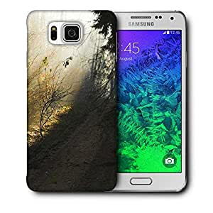 Snoogg Dark Forest Printed Protective Phone Back Case Cover For Samsung Galaxy SAMSUNG GALAXY ALPHA