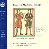 English Medieval Songs by Russell Oberlin
