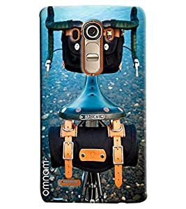 Omnam Sports Bicycle Printed Designer Back Cover Case For LG G4