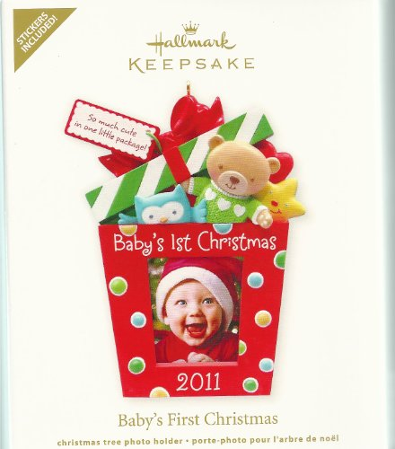 2011 Babys First Christmas - Photo Holder - QXG4199 by Hallmark - 1