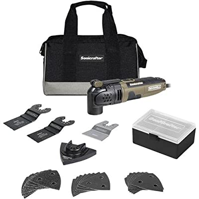 Rockwell RK5121K 3.0A Sonicrafter with Hyper Lock and Universal Fit System, 31-Piece