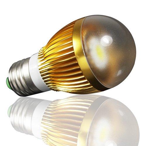 Lohas Led Cob Light Bulb Lamp 6W (50W Halogen Equivalent) E27 110-240V Warm White - Gloden