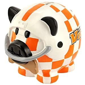 Tennessee Volunteers NCAA Resin Large Thematic Piggy Bank