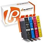 4 BUBPRINT Druckerpatronen kompatibel...
