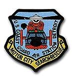 """U.S. Coast Guard Air Station Detroit 4"""" Patch"""
