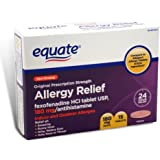 Allergy Relief Fexofenadine 180mg 15ct by Equate Compare to Allegra Allergy Tablets