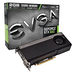 EVGA GeForce GTX660 2048MB GDDR5 192-Bit, Dual DVI-D, HDMI, DP and 3-Way SLI Ready GPU Graphics Cards 02G-P4-2660-KR