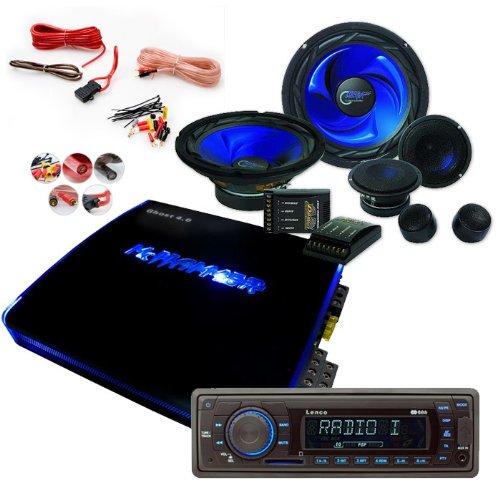 2700W Auto Hifi-Set USB SD MP3 Radio Verstärker