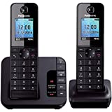 Panasonic KX-TGH222 Digital Cordless Phone with Colour LCD (Pack of 2)