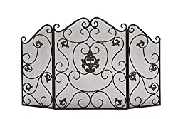 Deco 79 Metal Fire Screen, 47 by 30-Inch from Deco Seventy-Nine