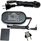 HQRP Kit AC Power Adapter and DC Coupler compatible with Canon ACK-DC30 ACKDC30 NB-5L fits PowerShot S100, S110, SD700 IS, SD790 IS, SX230 HS Digital Camera plus Euro Plug Adapter
