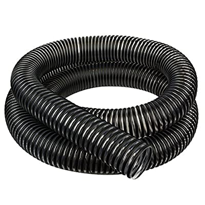 Hi Tech Duravent 11493 4-Inch by 10-Feet Clear PVC Dust Hose with Black Plastic Helix
