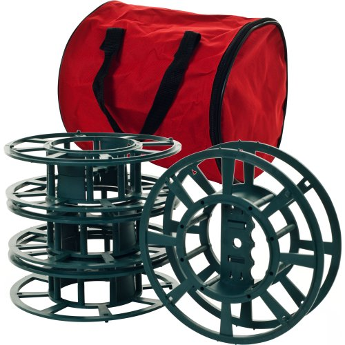 extension cords or christmas lights storage reel spools. Black Bedroom Furniture Sets. Home Design Ideas