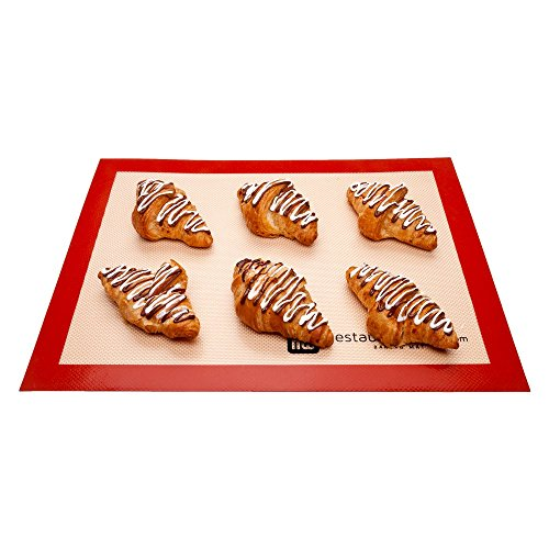 Ultra Durable Silicone Baking Mat Full Sheet 1 count box (Teflon Baking Paper compare prices)