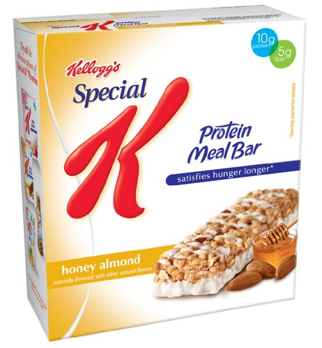 Special K Protein Meal Bar, Honey Almond, 6-Count Bars (Pack of 6)