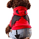ansinselect(アンシンセレクト)犬用ハロウィンコスプレコスチューム小悪魔服L赤オリジナルタオルセット