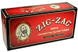 Zig Zag Full Flavor Red RYO Cigarette Tubes - 100mm Size 200ct Box (5 Boxes)