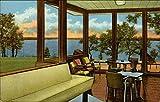 Beautiful Lake Murray as seen from the Lake Murray Lodge Marietta, Oklahoma Original Vintage Postcard