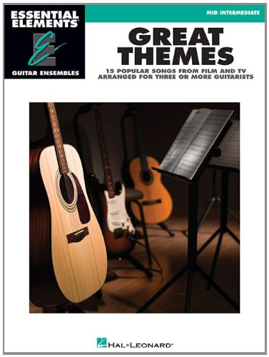Great Themes - Essential Elements Guitar Ensembles Mid Intermediate