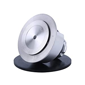 100 Sqcm Round Cloth Sample Cutter for Textile Fabric GSM Weight Cutter Testing Equipment,Textile Carpet Sample Cutter (White) (Color: White)