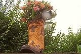 Originelles Pflanzgefäß, großer Cowboystiefel, Westernstiefel,Blumenkübel