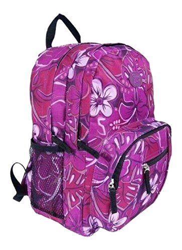 Girls Ladies Small Floral School or Holiday Backpack Rucksack