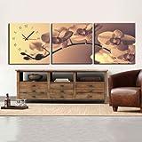 LightInTheBox Modern Style Retro Wall Clock in Canvas 3pcs Size 16