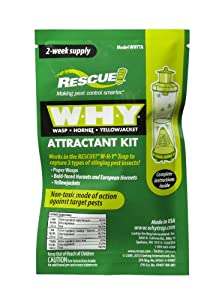 Rescue WHYTA-DB16 WHY Trap 2 Week Attractant Kit