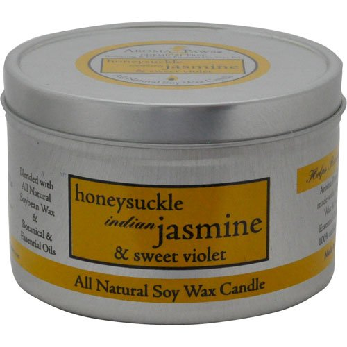 Honeysuckle Jasmine Travel Tin Candle
