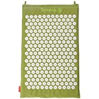 Sea Grass Green Hemp Acupressure Massage Mat with carry-bag