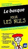 echange, troc Jean-Baptiste COYOS, Jasone SALABERRIA - Le Basque Guide de conversation Pour les nuls