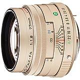 PENTAX リミテッドレンズ 望遠単焦点レンズ FA77mmF1.8 Limited シルバー Kマウント フルサイズ・APS-Cサイズ 27970