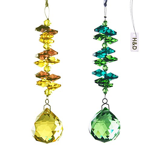 H d crystal chandelier parts hanging ornaments crystal for Hanging ornaments from chandelier