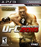 UFC Undisputed 2010 Undisputed UFC Sport sony playstation 3 sony PS3 2010 