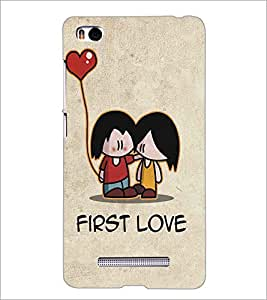 XIAOMI MI4I FIRST LOVE Designer Back Cover Case By PRINTSWAG