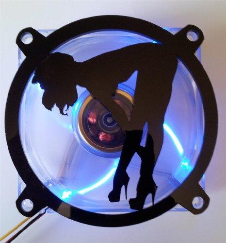 Custom Acrylic Sexy Girl Bending Over Computer Fan Grill 92mm (Custom Acrylic 92mm Fan Grill compare prices)