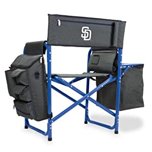 MLB San Diego Padres Portable Folding Fusion Chair by Picnic Time