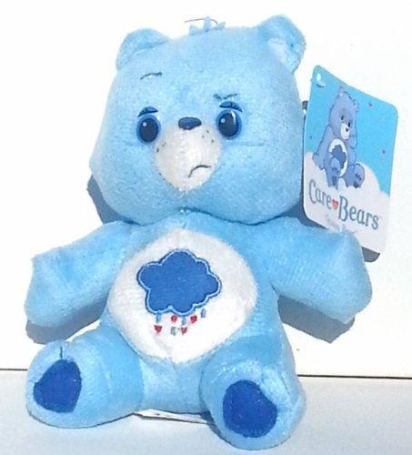 """Care Bear Sitting Plush 6.5"""" ~ Grumpy Bear - 1"""