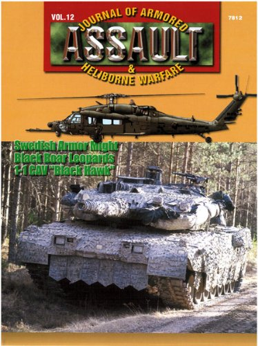 "Concord Publications Assault Journal #12 - 1-1 CAV in FTX ""Sabre"" and ""Commanche Ramp"", Sweden's Armor Might and Black Boar Leopards - 1"