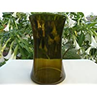 Green Avocado Glass Vase