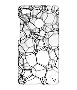Vogueshell Line Pattern Printed Symmetry PRO Series Hard Back Case for LeEco Le 1s Eco