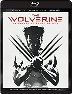 The Wolverine - Unleashed Extended Edition (Blu-ray 3D / Blu-Ray / DVD / DigitalHD + Digital Copy) by 20th Century Fox